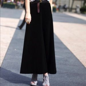 Banana Republic Black Maxi Skirt